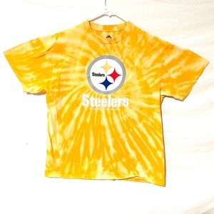 Custom dyed Pittsburg Steelers T-shirt